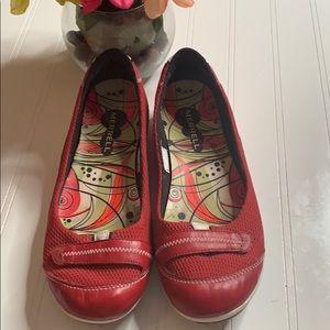 Merrell Allegro Red Ballet Flat - Sz 8